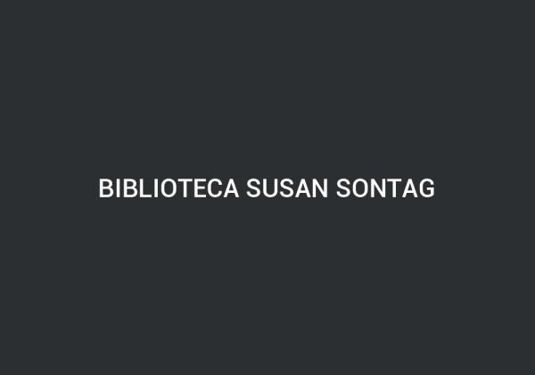 Biblioteca Susan Sontag