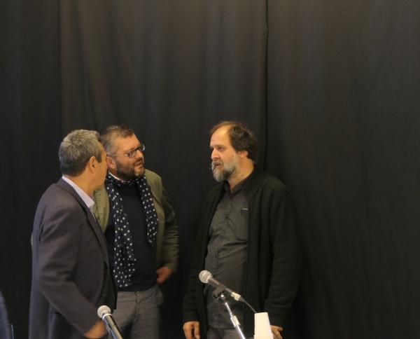 Filippo Maggia, Simone Mangani e Stefano Pezzato